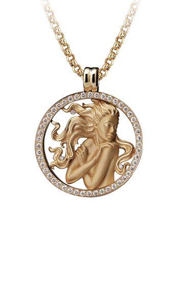 Magerit - Zodiac Collection: Necklace Big Virgo