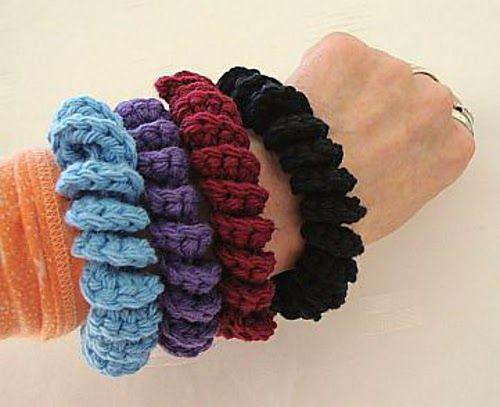Felicidad Crafty: 14 Pulseras GRATIS Crochet Patterns