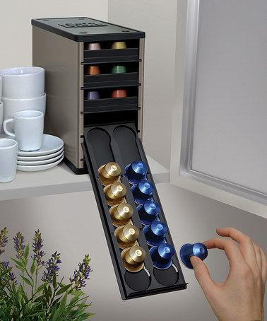 Look what I found on #zulily! Titan Caféstack Nespresso 60-Pod Organizer by YouCopia #zulilyfinds