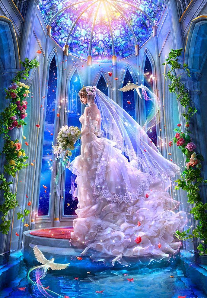 Свадебные картинки фей