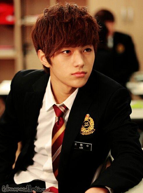 kim myung soo in school uniformmyung soo boys band flower boys