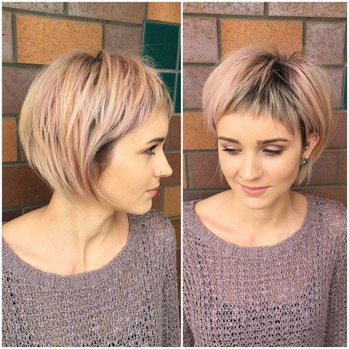 Trendy hairstyles 2017/18 - Long live short haircut
