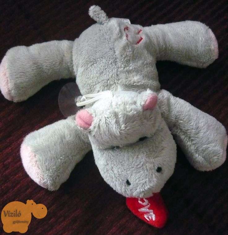 No. 300 | víziló | plüss | hippo | plush