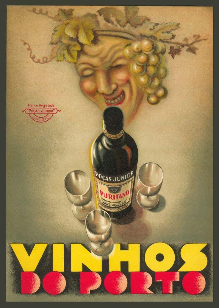 Postal Vinhos do Porto