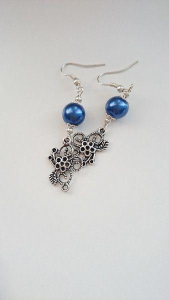 #earrings #kolczyki        Kolczyki++kwiaty+w+barbarella+na+DaWanda.com
