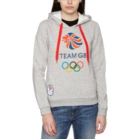 London 2012 Team GB Women's Hoody - Medium Grey Heather, Size 22 for £12.00