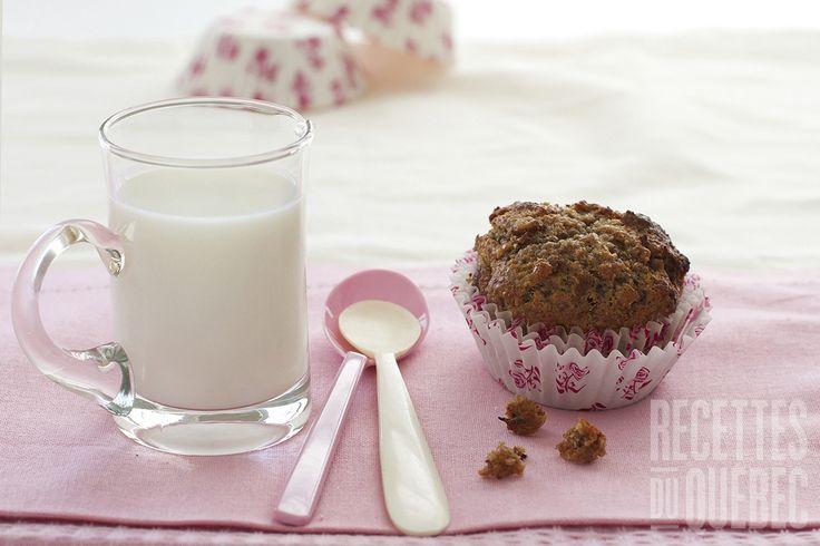 Muffins quinoa, son et dattes | .recettes.qc.ca