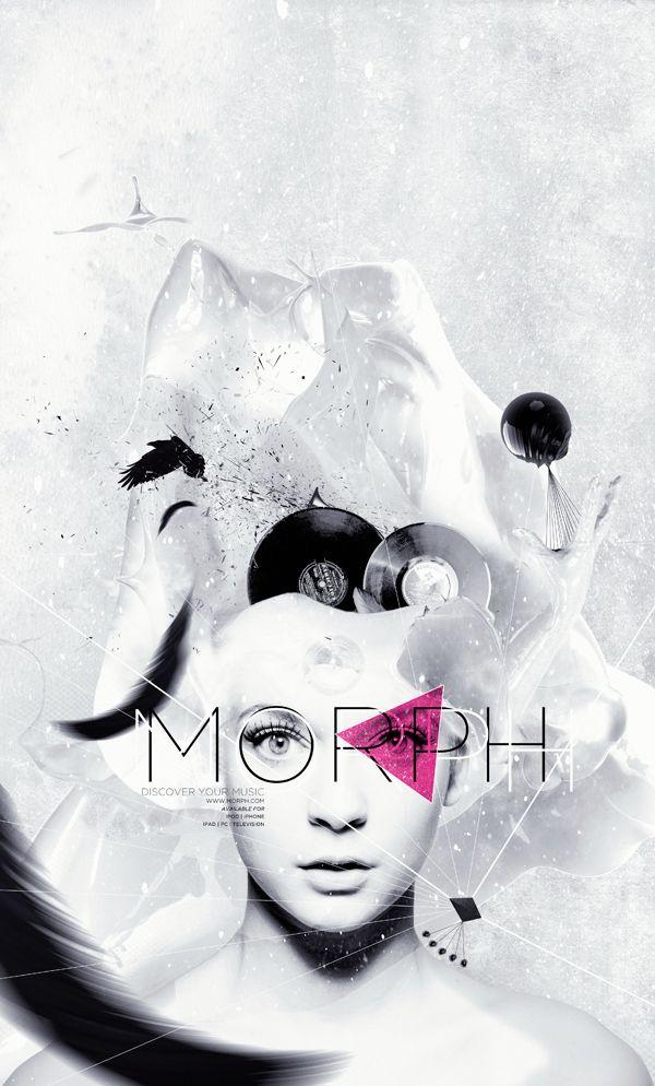 MORPH - discover your music by Tom Jüris, via Behance