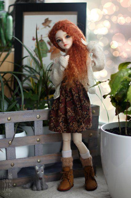 МИРВЕН Знакомство и прогулка Мирвен и Триши (Minifee) / BJD - шарнирные куклы БЖД / Бэйбики. Куклы фото. Одежда для кукол