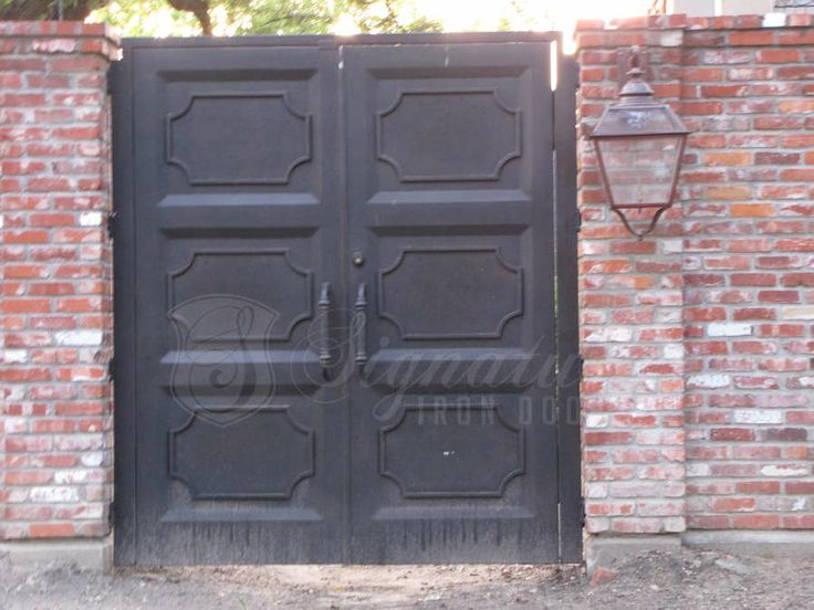 Signature Iron Doors Iron Gates And Custom Rails Entry
