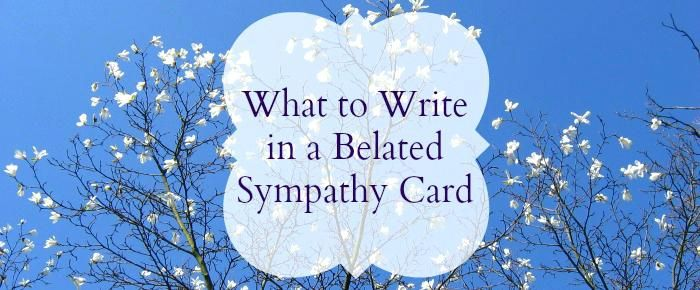 Belated Sympathy Card Messages Words Of Sympathy Cards