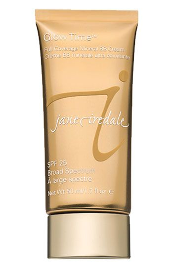 jane iredale 'Glow Time' Full Coverage Mineral BB Cream Broad Spectrum SPF 25 | Nordstrom: Full Coverage, Minerals Bb, Bb Cream, Time Full, Bbcream, Ired Glow, Jane Ired, Glow Time, Coverage Minerals