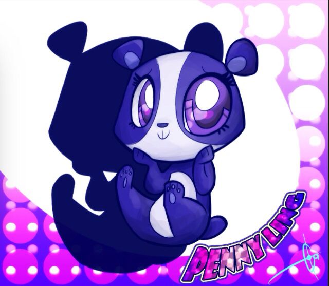 The cutest panda ever is Penny Ling!