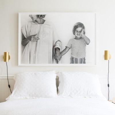 Tali Roth Apartment | Homepolish | Envoy Swing Sconce | Schoolhouse lighting