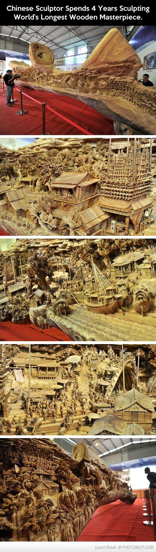 World's Longest Wooden Masterpiece