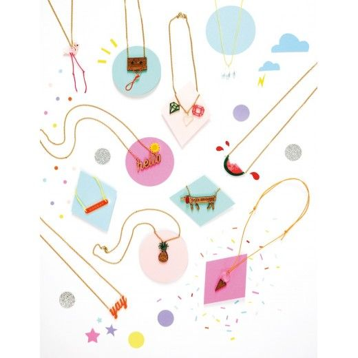 Flamingo Necklace - Children's Jewellery by Meri Meri