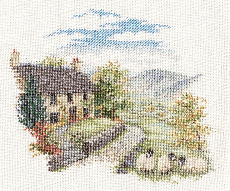 Headland - Minuets Cross Stitch Kit from Derwentwater Designs: 16 тыс изображений найдено в Яндекс.Картинках