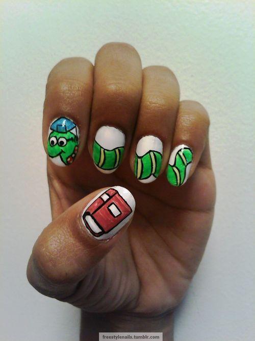 92 best School Nail Art images on Pinterest | Nail art designs, Nail ...
