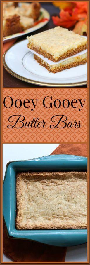 Ooey Gooey Butter Bars Recipe