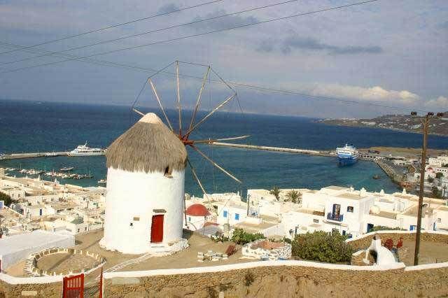 Windmills in Mykonos... http://blog.keytours.gr/2013/05/mykonos-means.html