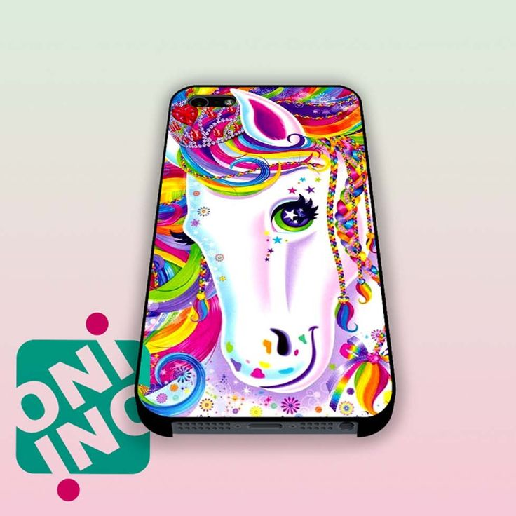 Lisa Frank Majesty The Rainbow Horse iPhone Case Cover | iPhone 4s | iPhone 5s…