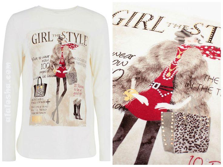 Романтические fashion иллюстрации придают простому фасону детской одежды Mayoral особенный шик и класс. Будьте уверены, такие вещи придутся по душе абсолютно каждой девчонке!