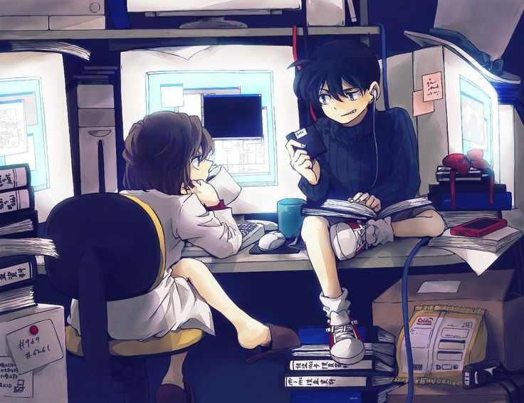 Conan & Ai - Detective Conan (Case Closed).