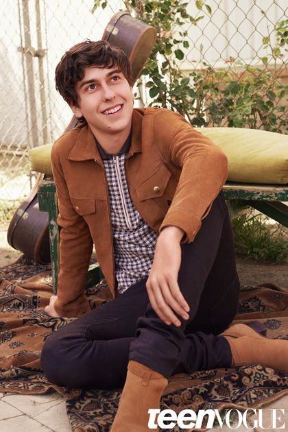 Nat Wolff Talks to John Green about Paper Towns, Cara Delevingne, and Shailene Woodley!
