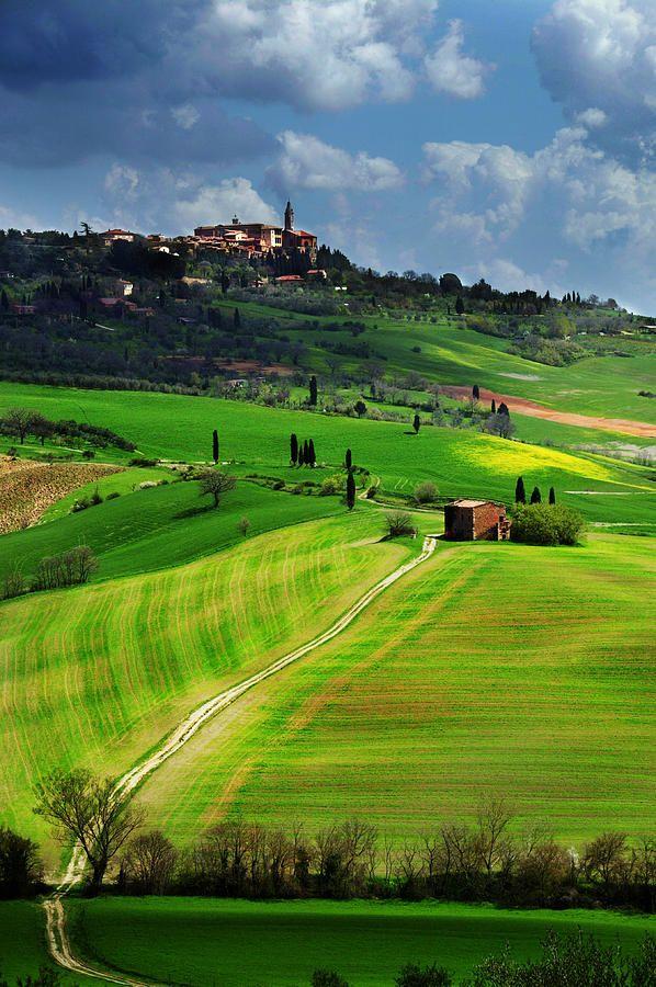 :Pienza, province of Siena Tuscany Italy