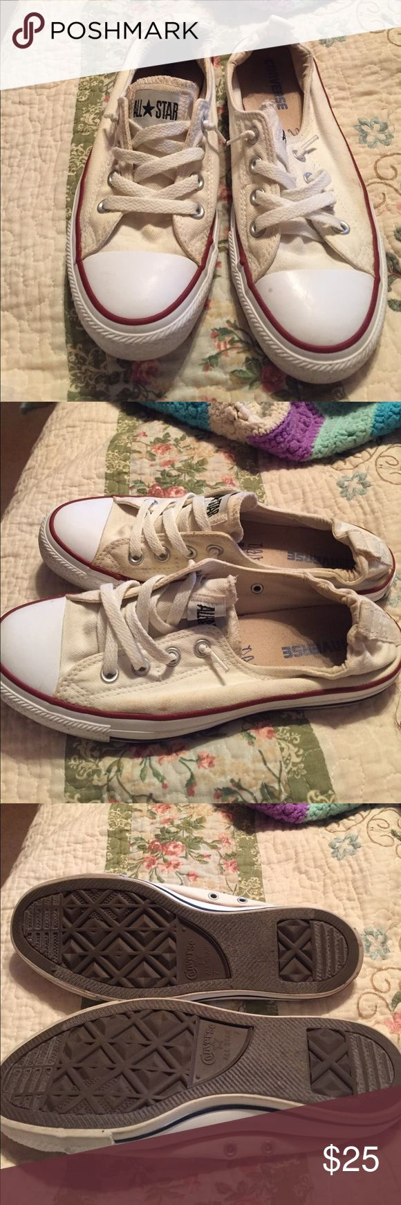 converse shoreline size 9 womens white Up for sale is an awesome pair of white Converse shoreline sneakers size 9 Converse Shoes Sneakers