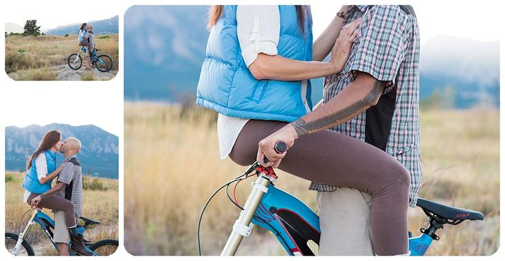 Mountain Biking Engagement Session - mountain bike