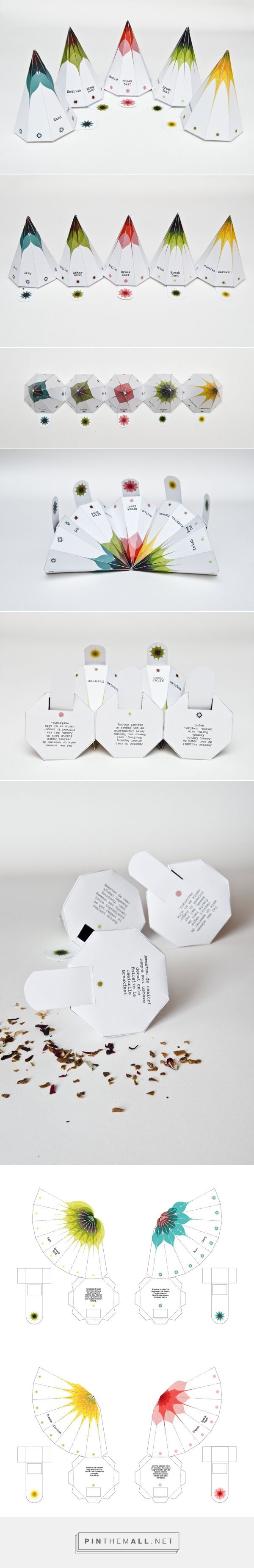 Tea #packaging on Packaging Design Served. An old pin but the 1st time I came across the entire design together curated by Packaging Diva PD created via http://www.packagingserved.com/gallery/tea-packaging/5221223