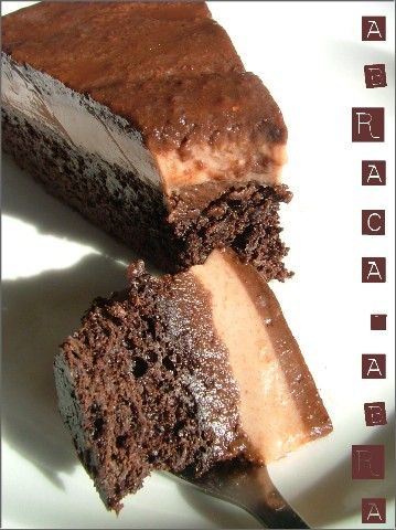 Gâteau magique aux 3 chocolats