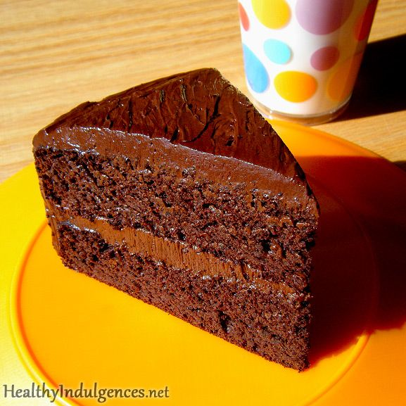 Healthier Chocolate Cake with a Secret