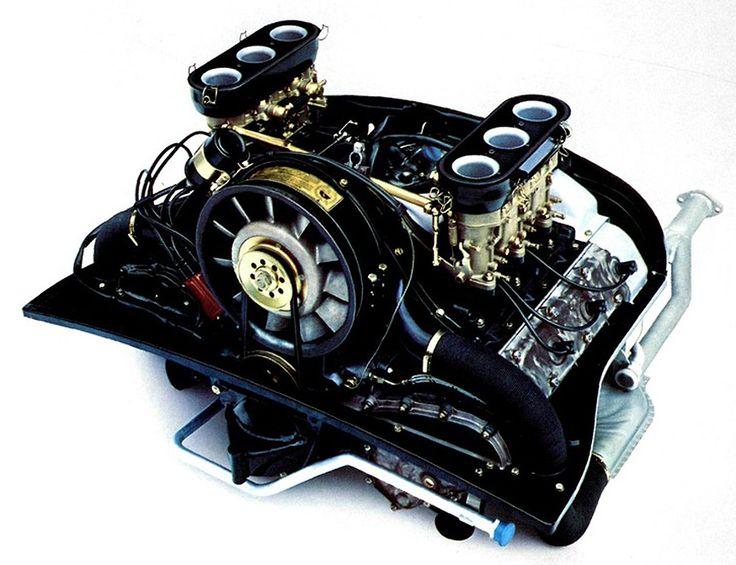 2 0 Litre 6 Cylinder Porsche Engine With Dry Sump