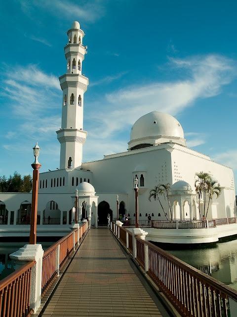 The Floating Masjid of Terengganu