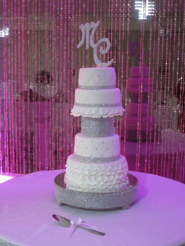 White Silver Wedding / Boda Blanco y Plata  Creaciones Reina Sofia Ciudad Ojeda Zulia Venezuela
