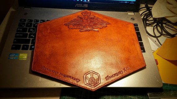 Check out this item in my Etsy shop https://www.etsy.com/uk/listing/387177948/your-custom-leather-mouse-pad