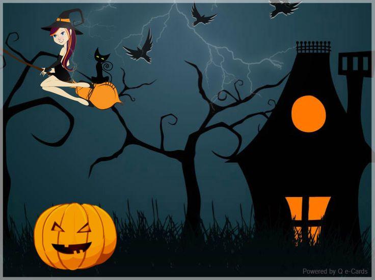 Halloween eCard – Lightning Night