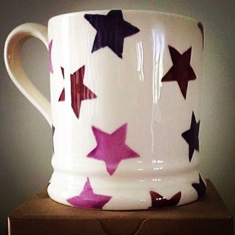 The #pancreaticcancerUK charity @emma_bridgewater mugs will soon be on sale here @Burleys_Gifts #takingitontogether or directly online www.purplerainbow.co.uk £20 plus postage & packing
