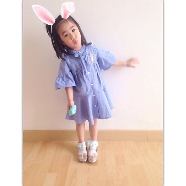 bunny dress.. so cute