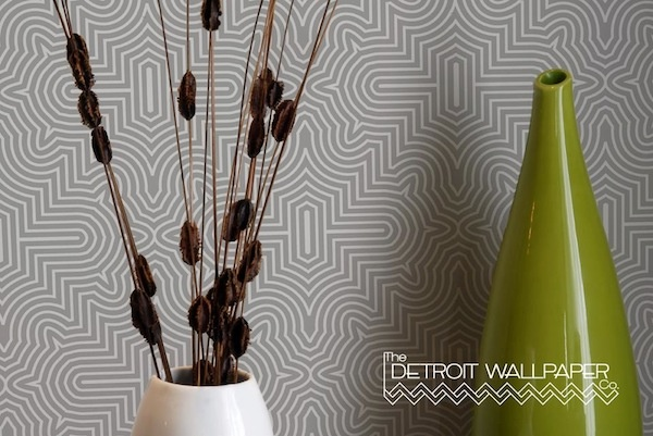Detroit Wallpaper   Design Ideas   Wall Covering