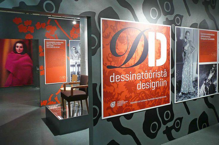 Dessinatööristä designiin – Exhibition Design. Intro Design.
