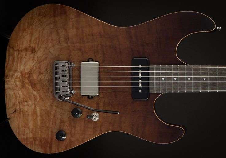 Patrick James Eggle 96 Drop Top Bitter Chocolate Fade #13657 - World Guitars – UK Guitar Store with Worldwide Delivery