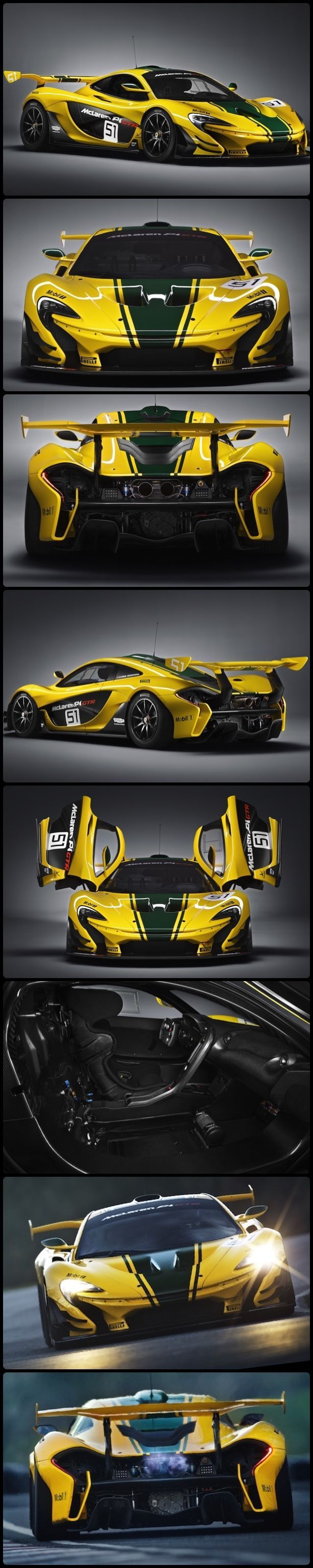 McLaren P1 GTR, a Limited Production. Pay the engineers an extra 15g and you can get it painted however you want