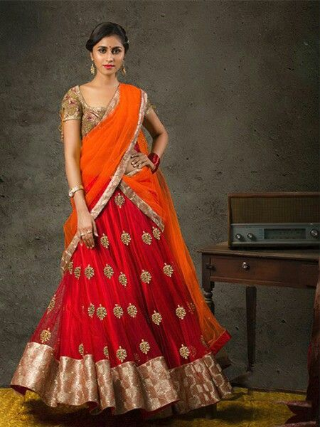 Dear customer  Ladies designer weddings lengha  Collection   Primium quality  MC 9025  Material LEHNGHA - Net With Embroidery  DUPATTA - Georgette  BLOUSE  - Brocket INNER - Satin Silk  COLOR - 5  Rate:-   Best selling price for single & multiple   Call & whatup 📞 +91-9413880140  And see more collection of ladies suit,saree, kurti,lengha and other collections of ladies  on  my Facebook page https://www.facebook.com/Fashion-fab-1450544898577078/  Thanks again for your help and support…