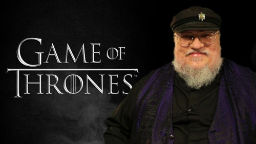"George R.R. Martin ""Game Of Thrones"" - SPOILER ALERT: In this mysteriously leaked DVD commentary for Season 4 of ""Game Of Thrones,"" author George R.R. Martin drops some MASSIVE plot bombshells. You've been warned. (Team Coco)"