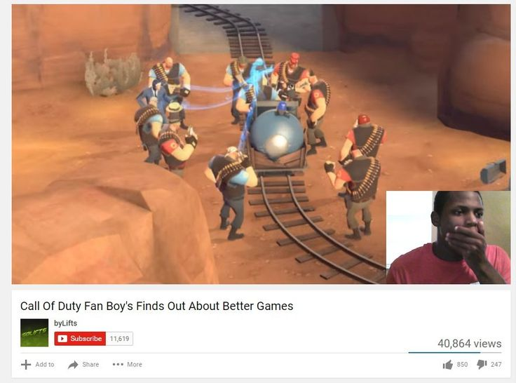 COD Fan Boy finds out about better games #games #teamfortress2 #steam #tf2 #SteamNewRelease #gaming #Valve