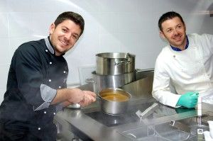 Best New #Restaurant San Gimignano San Martino 26 The Talented #Brother #Chefs at the opening of the Family #Ristorante