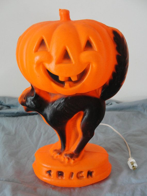 608 best images about vintage halloween on pinterest for Antique halloween decoration